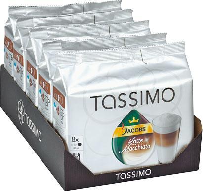 Eventuell lokal: Offline 5 Packungen Tassimo Jacobs Crema XL oder Latte Macciato bei Kaufland Rostock