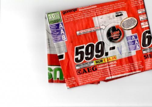 MM  Schorndorf (RMK)AEG Waschmaschine Lavamat 75475 FL  //   499-€ (Idealo 780-€)