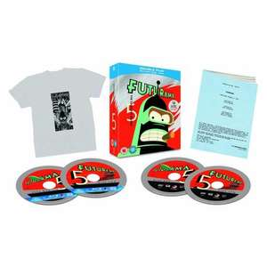 Futurama - Season 5: Limited Edition (Blu-Ray, DVD, T-Shirt and Script) für 14,14 € @ Zavvi