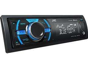 JVC KD-X50BT Digital Media Receiver mit Dual-USB/Aux und Bluetooth schwarz