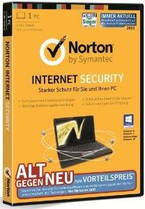 [Amazon] Norton Internet Security 2013 für 9,90 Euro Blitzangebot bis 22:00 Uhr