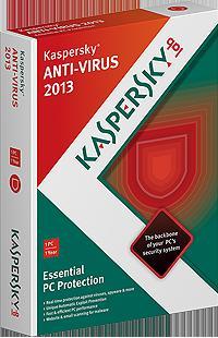 Kaspersky Antivirus 2013 - 1 Jahr für lau - Anleitung