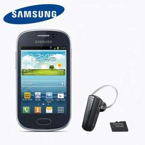 Samsung Galaxy FAME GT-S6810P - Android 4.1, 1 GHz, inkl. Headset & 32 GB microSD-Karte --> OFFLINE Aldi Nord