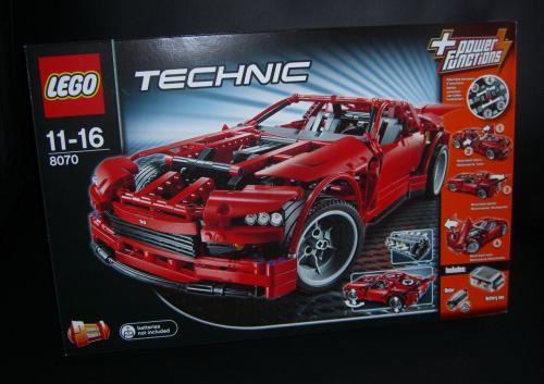 LEGO 8070 - Technic Super Car bei AvenuedesJeux / LeLutinRouge für nur 88,41€