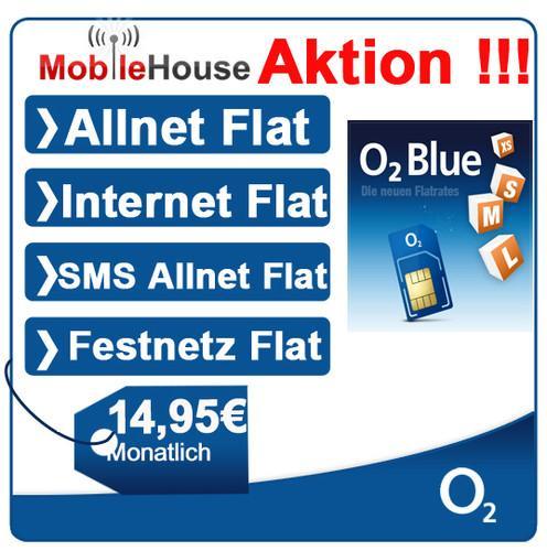 mobilcom debitel o2 Allnetflat von MobileHouse bei Ebay für 14,95€ monatlich !!