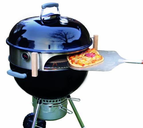 Vom Webergrill zum Pizzaofen!