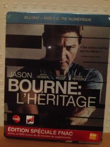 Das Bourne Vermächtnis (Steelbook Blu-ray + DVD) für 13,49€ statt 17,99€ (ohne DVD)