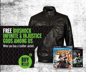 Jacke + 2 Spiele (Bioshock Infinite - PS3/Xbox + Injustice: Gods Among Us - XBox/PS3/Wii-U) + Call Of Duty: Modern Warfare 3 Exclusive Avatar und Theme