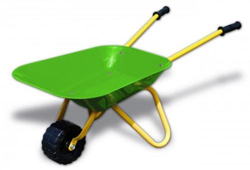 Xtrem™ - Metall-Schubkarre für Kinder (Grün/Gelb) für €9,99 [@Tegut-Ideenwelt.com]