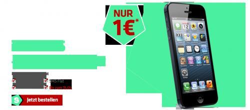 S3 mini mit AllnetFlat für 25,- € oder iPhone 5 mit Allnet für 40 €