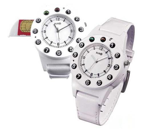 Burg 5 white - Watch Phone