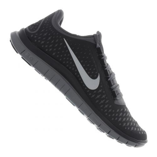 Nike Free 3.0 V4 Running Mens Schwarz-Grau für 69,73 € - inkl. Versand und in vielen Größen verfügbar