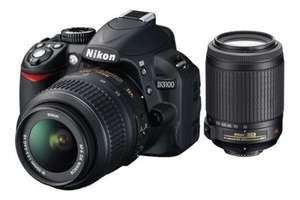 Nikon D3100 18-55+55-200 399€ @ Saturn Super Sunday