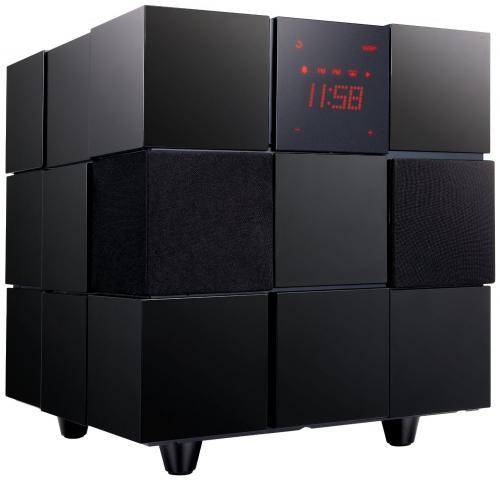 WLAN - Lautsprecher LG ND8520 Dockingstation für Apple iPod/iPhone/iPad (80 Watt, WLAN, Radio, Wecker , Fernbedienung, Stereolautsprecher, Subwoofer)