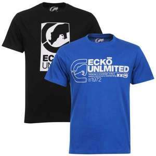 Herren Ecko Unlimited 2er Pack T-Shirts für 19,06€ inkl. Versand bei ebay.uk