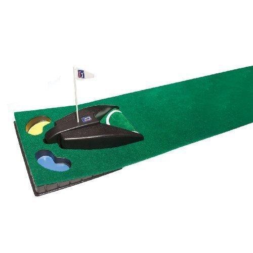 PGA TOUR Putting Matte mit automatischer Ballrückgabe