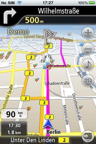 Navfree kostenlose GPS Navigation für Iphone und/oder Ipad -keine Inet-verbindung benötigt-