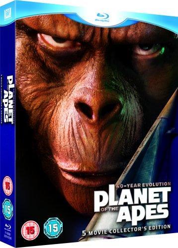[Blu-ray] Planet der Affen : 40 Jahre Evolution (5 Movie Collector's Edition) für 16,01 € @ Wowhd.co.uk