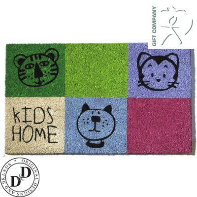 Schöne Kokos-Fußmatte für alle mit Kindern