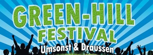 Umsonst & Draußen : Green Hill Festival am Umwelt Campus