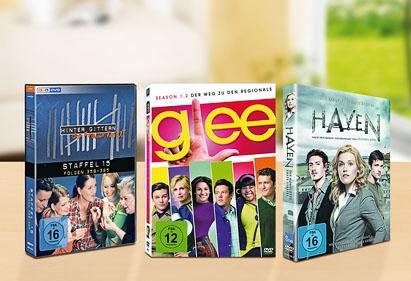 [(fast) bundesweit] Kaufland DVD-Boxen u.a. Glee, Haven ab 13.05.2013 für nur 9,99€