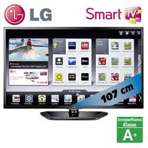 "LG 42"" LN5708 FullHD LED SmartTV, Triple-Tuner, Wifi, A+ @real am 13.05."