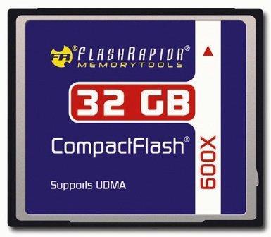 Amazon.de | Flashraptor CompactFlash(CF) 32GB 600x Industriestandard um 35,99€ - gabs noch nie günstiger!!
