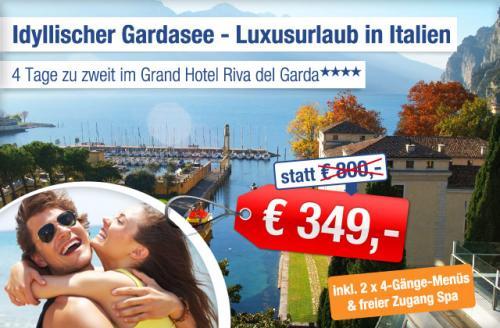 4 Tage Luxus am Gardasee für Zwei