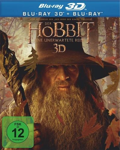 Der Hobbit - Eine unerwartete Reise 3D (+ Blu-ray) für 22 € @amazon.de
