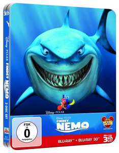 [ Blu-ray 3D ] Findet Nemo (Limited Edition) (Steelbook) (+ Blu-ray) für 20,97 EUR inkl. Versand @ Amazon.de