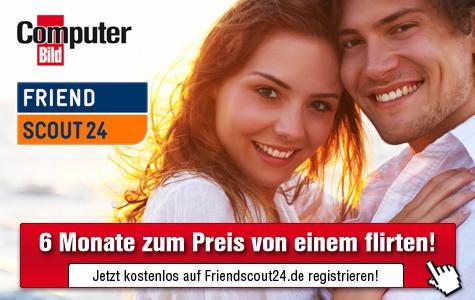 FriendScout24: 6 Monate Premium-Plus-Mitgliedschaft zum Preis von 1