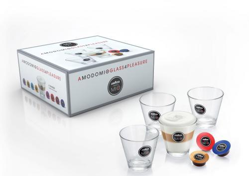 4 x Lavazza A MODO MIO Latte Macchiato Gläser für 10€ @ Saturn.de ( bei Abholung) ansonsten +4,99€ Versand!