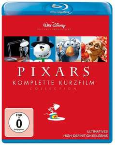 Pixars komplette Kurzfilm Collection (Blu-ray) @Weltbild