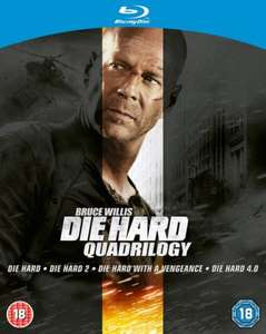 Blu-Ray Box - Die Hard Quadrilogy (4 Discs) für €11,81 @ Zavvi