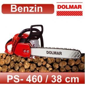 Benzin-Kettensäge Dolmar PS-460, 38cm (700460560), Leistung 3,0 PS