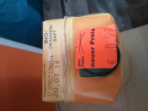 [Penny Magdeburg] Bio Orangensaft 0,99 €