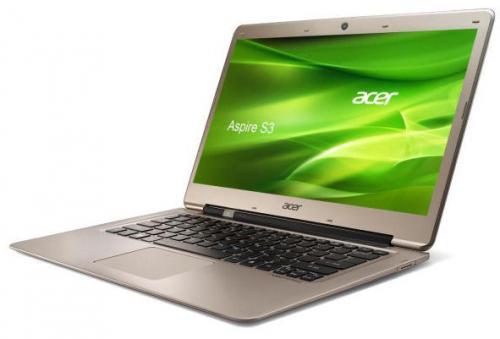 "Acer Aspire S3 [13,3"" , i3-3217U 2x1,8Ghz, 500GB HDD, 4GB, WIN8]"