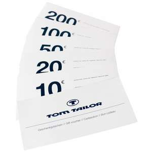 30% auf Gutscheine im Tom Tailor E-Store - 50€ für 35€!