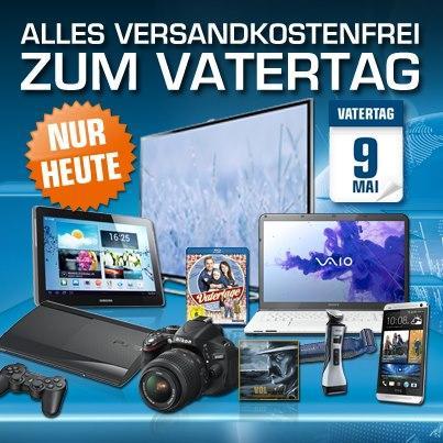 [Nur heute] Alle Bestellungen VSK-frei (auch keine Speditionskosten für Großgeräte!) auf Saturn.de