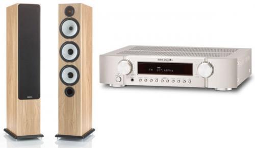 Marantz SR5023 und 1 Paar Standlautsprecher Monitor Audio BX6