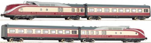 """Roco 63103 - Dieseltriebzug BR 601 """"Alpen-See Express"""" der DB & ggf. Ergänzungswagen ab 153 Euro"""