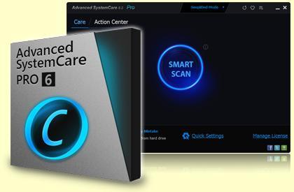 AdvancedSystemCare 6 PRO Kostenlos