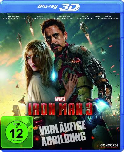 Iron Man 3, 3D Version vorbestellen 21,99€ Amazon