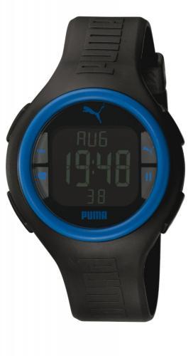 Puma Time Active PULS BLACK BLUE - Uhr für 32,97€ bei Amazon