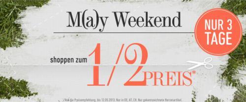 Dress for Less M(a)y Weekend - Shoppen zum halben Preis auf ausgewählte Sachen