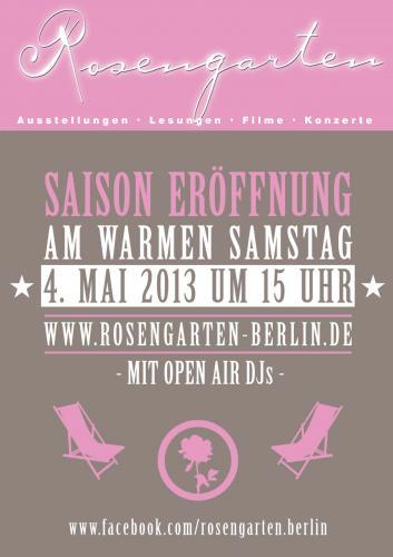 [LOKAL BERLIN] FREILUFT-KINO ROSENGARTEN-4x IM MAI: FILME MIT MUSIKERN