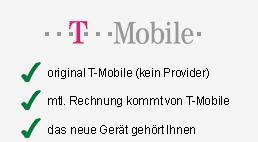 """T-Mobile """"4Flats 4You"""" mit guten Handys als Zugabe monatlich nur 24,95€"""