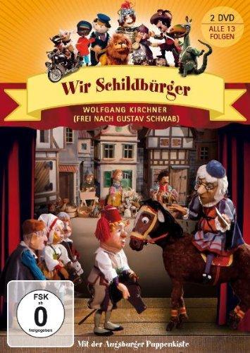 Amazon: Verschiedene Augsburger Puppenkisten DVDs für 4,99 €/9,99 ( doppel DVD) + eventuell VSK