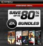 Weekend Deal: EA PC Bundles @ gamefly.com (up to 80% Off)