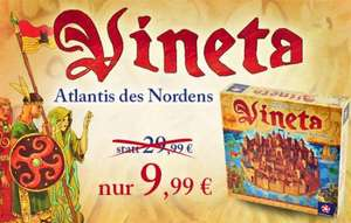 Brettspiel Vineta für 11,49 EUR (8,49 EUR für Neukunden)